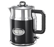 Russell Hobbs Retro Ribbon 1.7L 2400W Black,Silver electric kettle