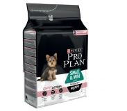 Pro plan PURINA PRO PLAN Small & Mini Puppy Sensitive Skin saumon - 3 kg