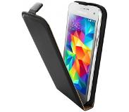 Mobiparts Essential Flip Case Samsung Galaxy S5 Mini Black