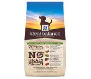 Hill's Pet Nutrition Lot Hill's Canine Ideal Balance - Adult No Grain poulet, pommes de terre (2 x 12 kg)