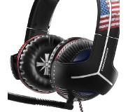 Thrustmaster Y-350CPX 7.1 Powered Far Cry 5 Edition Binaural Bandeau Noir, Bleu, Rouge, Blanc Casque audio
