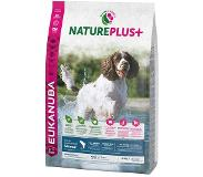 Eukanuba NaturePlus+ Adult Medium Dog saumon pour chien - 14 kg