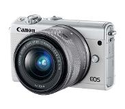 Canon EOS M100 Kit d'appareil-photo SLR 24.2MP CMOS 6000 x 4000pixels Blanc