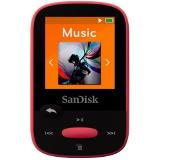 Sandisk Clip Sport 8GB MP3 8Go Noir, Rose