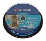 Verbatim CD-R AZO Wide Inkjet Printable CD-R 700Mo 10pièce(s)