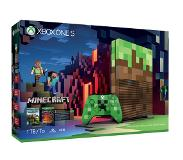 Microsoft Xbox One S Minecraft Limited Edition Bundle 1TB 1000Go Wifi Blanc
