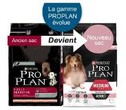 Pro plan PURINA PRO PLAN Medium Adult Sensitive Skin saumon - 14 kg