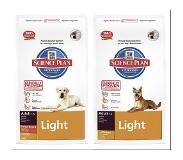 Hill's Pet Nutrition Hill's Canine Adult Large Breed Light, poulet pour chien - 2 x 12 kg