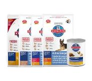 Hill's Pet Nutrition Hill's Canine Mature Adult Senior Light pour chien - 2 x 12 kg