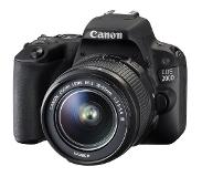 Canon EOS 200D + EF-S 18-55mm f/3.5-5.6 III Kit d'appareil-photo SLR 24.2MP CMOS 6000 x 4000pixels Noir