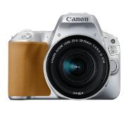 Canon EOS 200D + 18-55 IS STM Kit d'appareil-photo SLR 24.2MP CMOS 6000 x 4000pixels Argent
