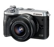 Canon EOS M6 + EF-M 15-45mm 3.5-6.3 IS STM 24.2MP CMOS 6000 x 4000pixels Noir