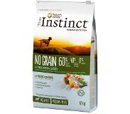 True Instinct Dog No Grain Medium-Maxi saumon pour chien - 2 x 12 kg