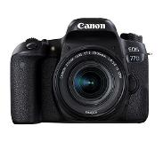 Canon EOS 77D + 18-55mm F4.0-5.6 IS STM 24.2MP CMOS 6000 x 4000pixels Noir