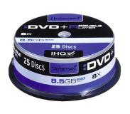 Intenso DVD+R 8.5GB 8x Double Layer 25er Cakebox 8.5Go DVD+R 25pièce(s)