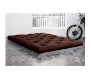 Karup Matelas FUTON TRADITIONNEL marron 140*200cm
