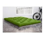 Karup Matelas FUTON TRADITIONNEL vert lime 200*200cm
