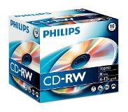 Philips Pack 10 CD-RW 700 MB 12 X