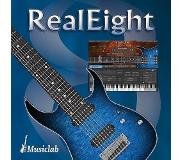Musiclab RealEight guitare électrique virtuelle 8 cordes