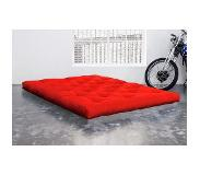 Karup Matelas FUTON TRADITIONNEL rouge 180*200cm