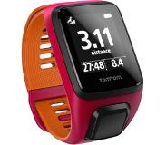 TomTom Montre GPS Tomtom Outdoor Runner 3 Fushia/Orange Fin