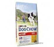 Dog chow Purina Dog Chow Adult Active, poulet pour chien - 14 kg