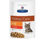 Hill's Pet Nutrition Hills KD Feline Prescription Kip 2011599 12 sachets