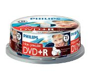 Philips Pack 25 DVD+R 4.7 GB 16x Imprimable