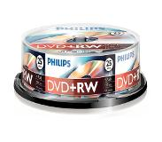 Philips Pack 25 DVD+RW 4.7 GB 4x
