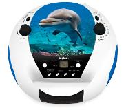 Bigben Interactive Radio CD portable USB Dolphin