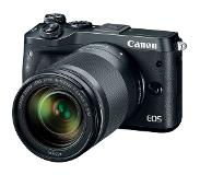 Canon EOS M6 + EF-M 18-150mm 1:3.5-6.3 IS STM 24.2MP CMOS 6000 x 4000pixels Noir
