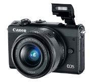 Canon EOS M100 Kit d'appareil-photo SLR 24.2MP CMOS 6000 x 4000pixels Noir