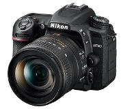 Nikon D7500 + AF-S DX NIKKOR 16-80 VR Kit d'appareil-photo SLR 20.9MP CMOS 5568 x 3712pixels Noir
