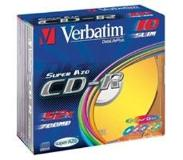 Verbatim CD-R AZO Wide Inkjet Printable CD-R 700Mo 25pièce(s)